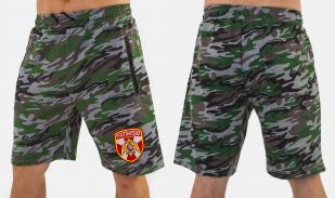 Армейские крутые милитари шорты с нашивкой Росгвардия - заказать в подарок