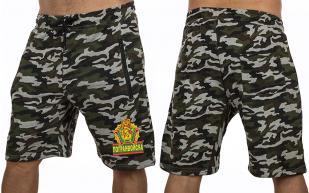 Армейские милитари шорты с нашивкой Погранвойска - купить по низкой цене