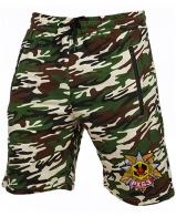 Армейские милитари шорты с нашивкой РХБЗ