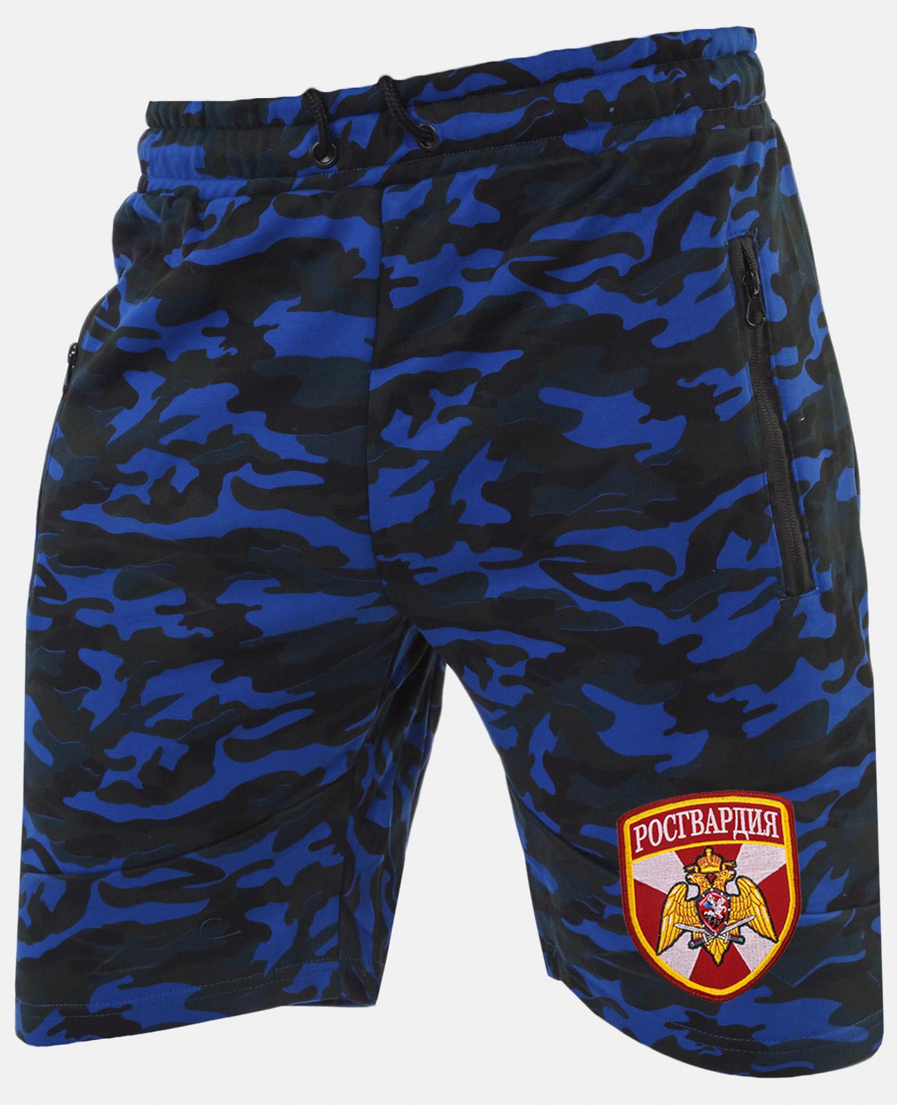 Армейские милитари шорты с нашивкой Росгвардия