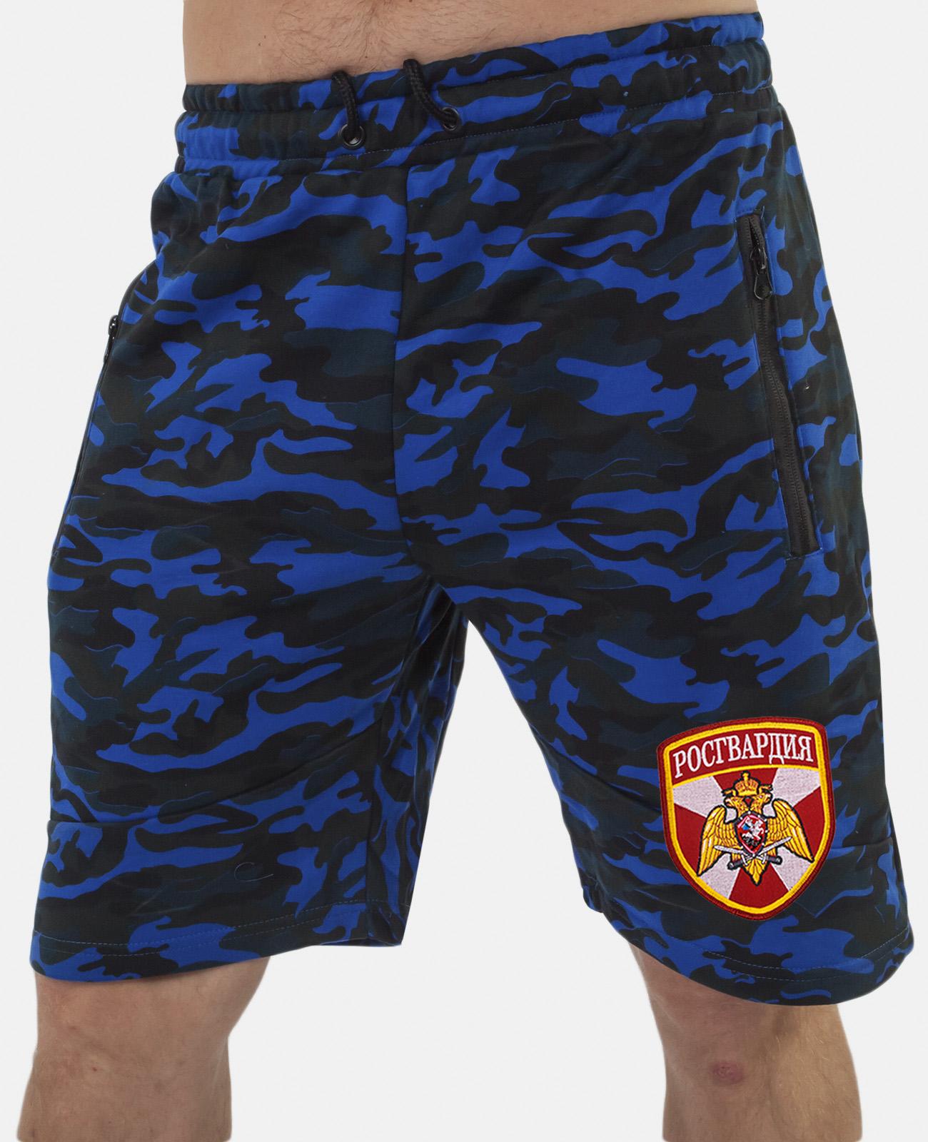 Купить армейские милитари шорты с нашивкой Росгвардия с доставкой в любой город