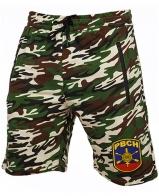 Армейские милитари шорты с нашивкой РВСН