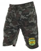 Армейские мужские шорты нашивкой ВКС - заказать с доставкой