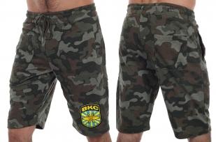 Армейские мужские шорты нашивкой ВКС - купить в подарок