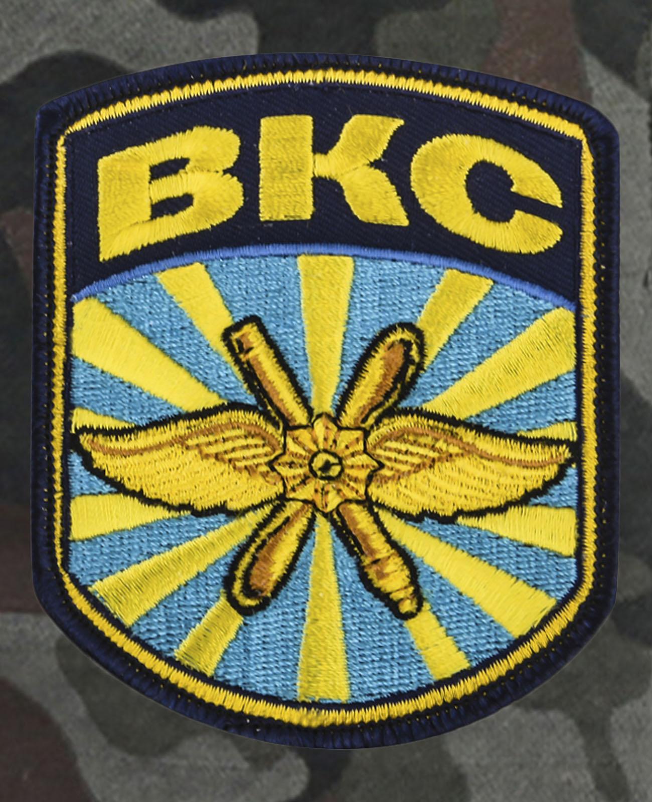 Армейские мужские шорты нашивкой ВКС
