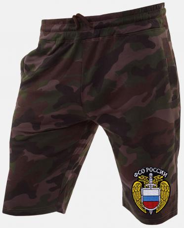 Армейские мужские шорты с нашивкой ФСО