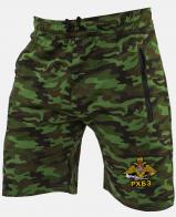 Купить армейские мужские шорты с шевроном РХБЗ