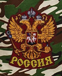 Армейские надежные шорты с нашивкой Россия