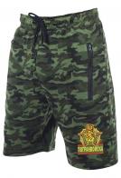 Армейские оливковые милитари-шорты с нашивкой Погранвойска
