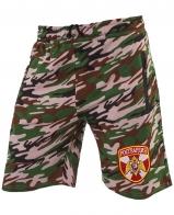 Армейские особенные милитари шорты с нашивкой Росгвардия
