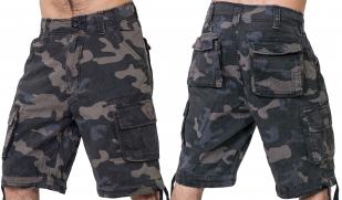 Мужские армейские шорты бермуды Brandit Woodland.