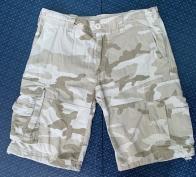 Армейские шорты карго в пустынном камуфляже от Brandit