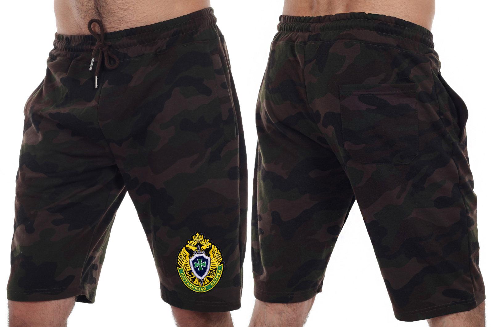 Армейские шорты с нашивкой ПС купить онлайн