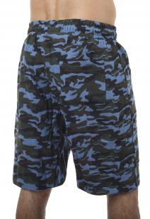 Армейские свободные шорты с нашивкой Росгвардия - заказать с доставкой