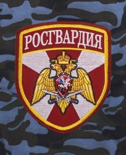 Армейские свободные шорты с нашивкой Росгвардия