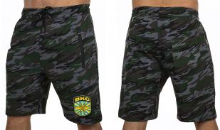 Армейские темные шорты с нашивкой ВКС - заказать в Военпро