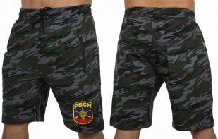 Армейские трикотажные шорты с нашивкой РВСН - купить оптом