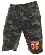 Армейские удлиненные милитари шорты с нашивкой Росгвардия