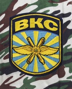 Армейские зачетные шорты нашивкой ВКС