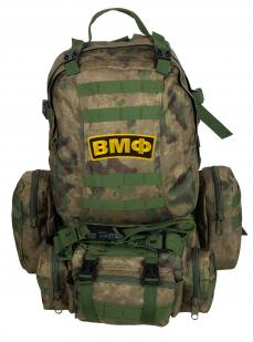 Армейский большой рюкзак-трансформер с нашивкой ВМФ - заказать онлайн