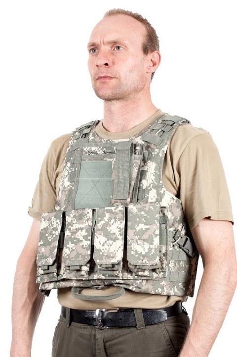 Армейский бронежилет FSBE камуфляж ACU