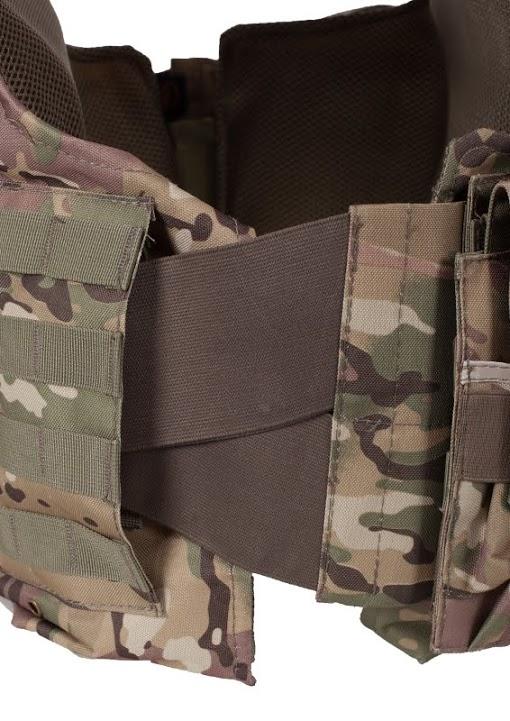 Армейский бронежилет CIRAS камуфляж Multikam