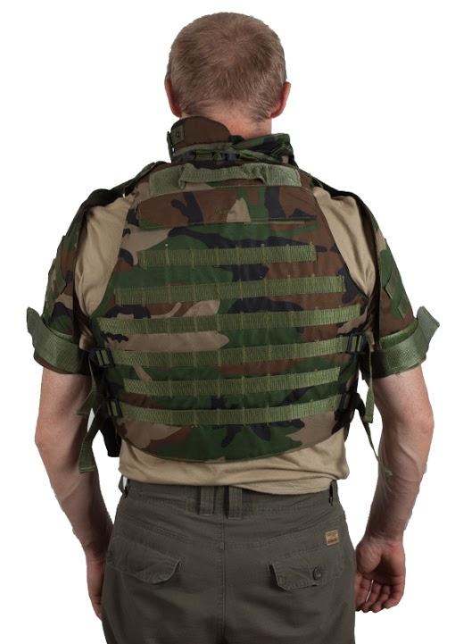 Армейский бронежилет IOTV французский камуфляж