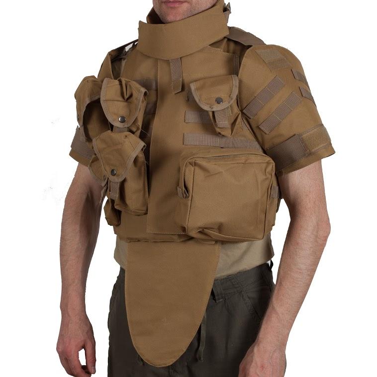 Армейский бронежилет IOTV хаки-песок