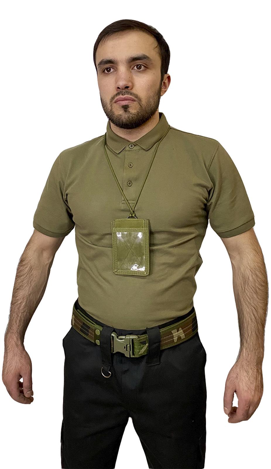 Армейский чехол-держатель для ID-карт и документов (хаки-олива)