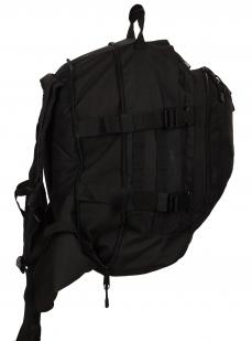 Армейский черный рюкзак с нашивкой МВД - заказать в подарок
