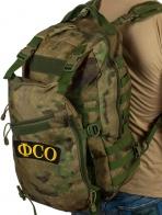 Армейский камуфляжный рюкзак с нашивкой ФСО