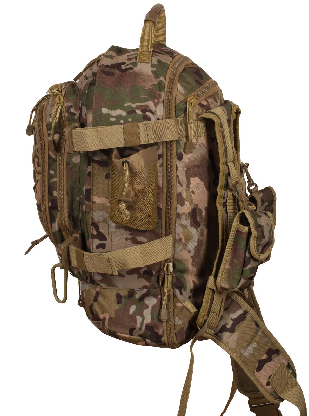 Армейский камуфляжный рюкзак  с нашивкой ПС - заказать в подарок