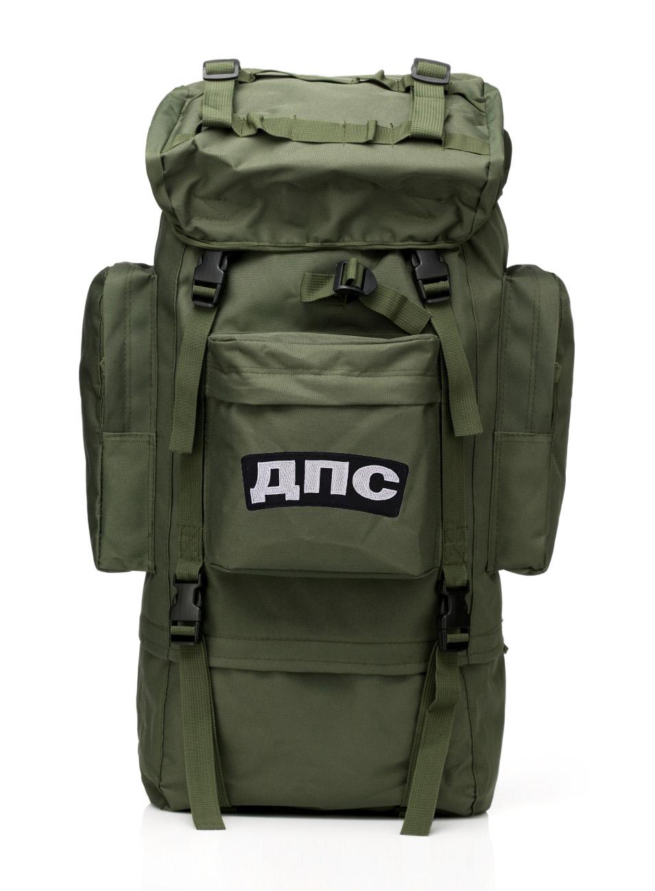 Армейский каркасный рюкзак с нашивкой ДПС - заказать в подарок