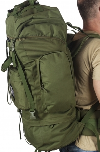Армейский каркасный рюкзак с нашивкой ДПС - заказать оптом