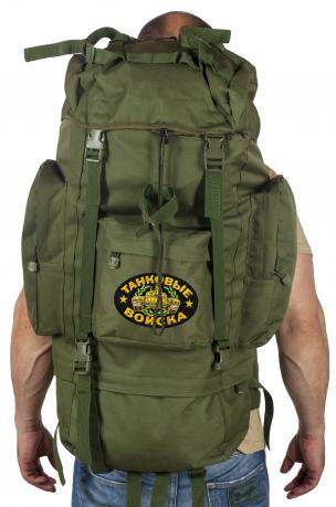 Армейский каркасный рюкзак с нашивкой Танковые Войска