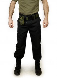 Армейский подсумок под радиостанцию (хаки-олива)