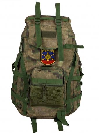 Армейский походный рюкзак камуфляж A-TACS FG с эмблемой РВСН - заказать оптом