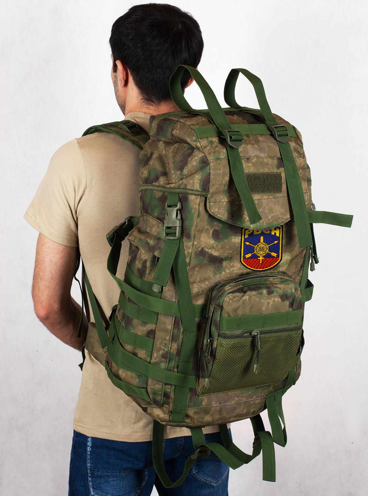 Армейский походный рюкзак камуфляж A-TACS FG с эмблемой РВСН - купить выгодно