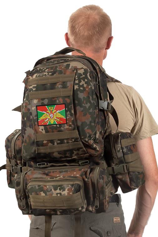 Армейский походный рюкзак  с эмблемой ПОГРАНВОЙСК