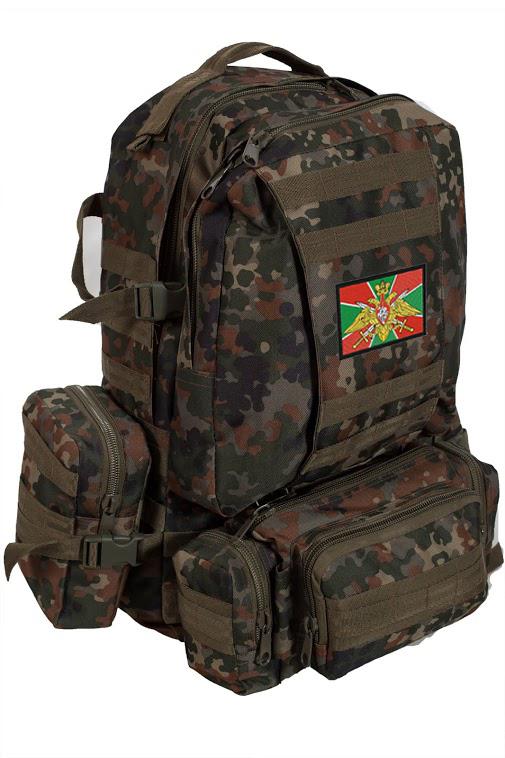 Армейский походный рюкзак  с эмблемой ПОГРАНВОЙСК - купить выгодно