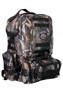 Армейский практичный рюкзак с нашивкой ДПС - купить в розницу