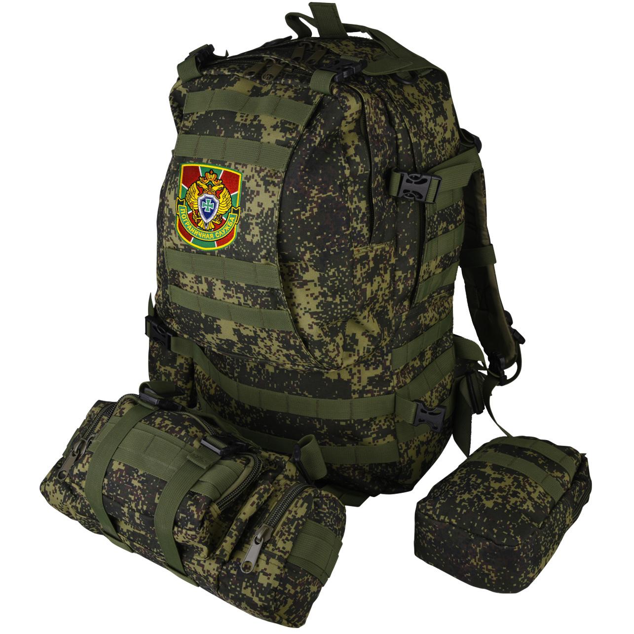 Армейский рейдовый рюкзак с нашивкой Пограничной службы - заказать оптом
