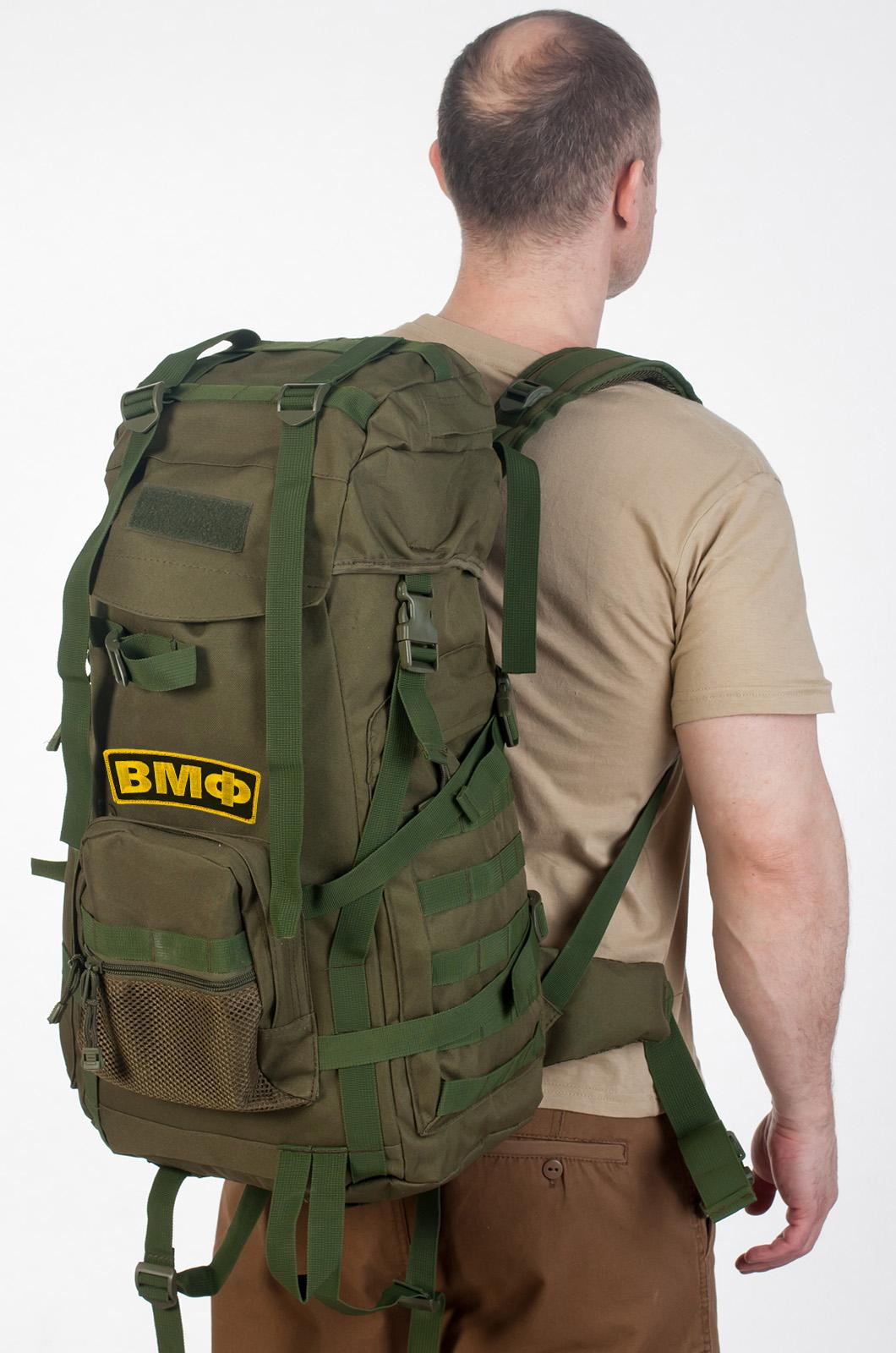 Армейский рейдовый рюкзак с нашивкой ВМФ - купить онлайн