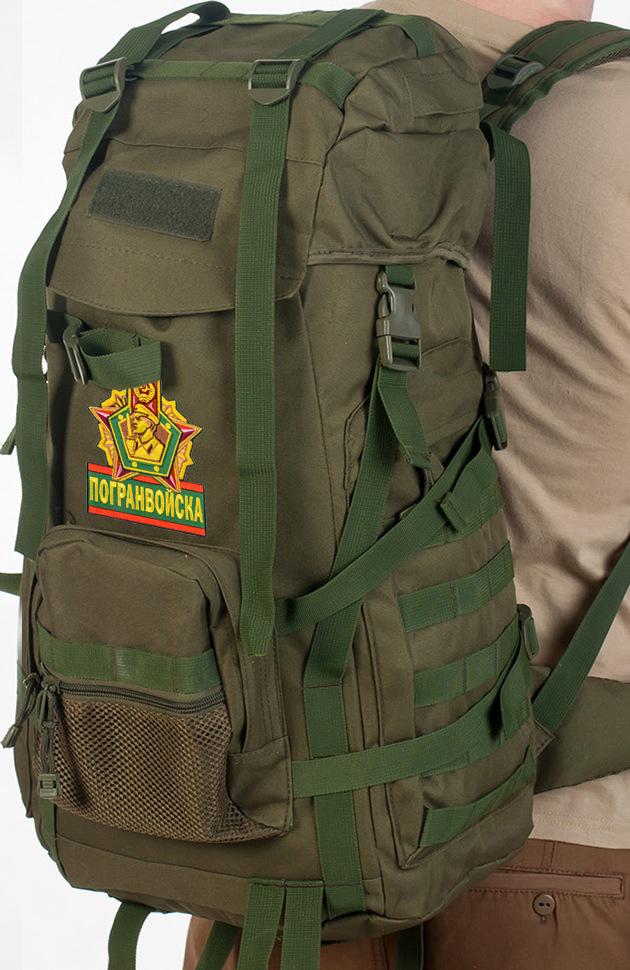 Армейский рейдовый рюкзак с шевроном Погранвойска - купить онлайн