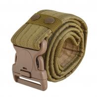 Армейский ремень Utility Belt с липучкой-велкро (хаки-песок)