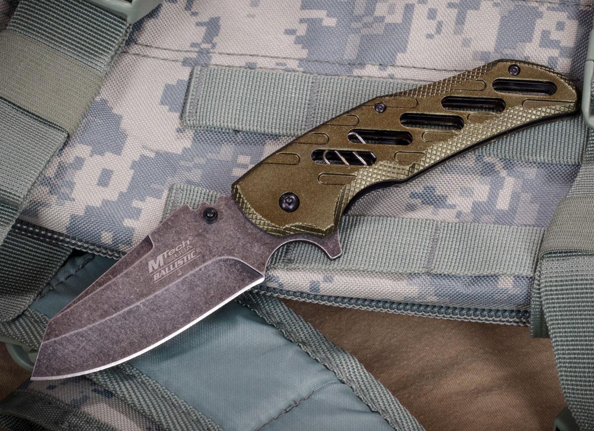 Армейский складной нож Mtech Ballistic MT-A904GR - заказать выгодно с доставкой