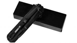 Армейский складной нож танто «Спецназ ГРУ - Выше нас только звезды»