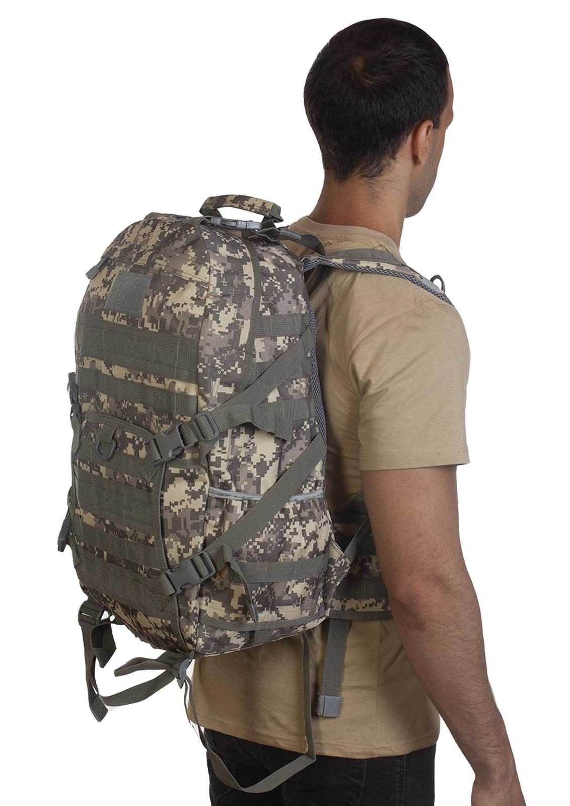 Армейский тактический рюкзак камуфляж ACU с доставкой по России