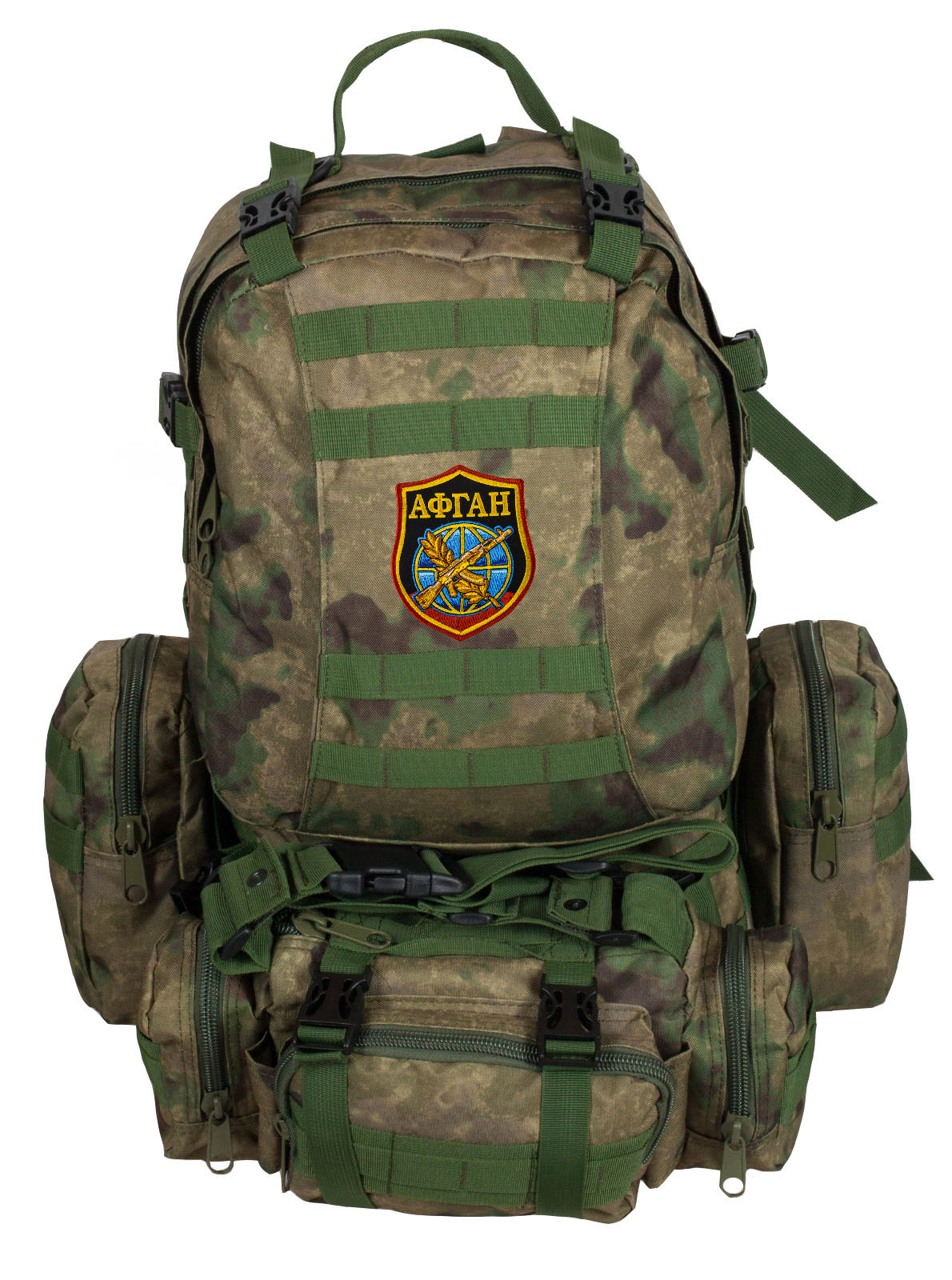 Армейский тактический рюкзак с нашивкой Афган - купить выгодно