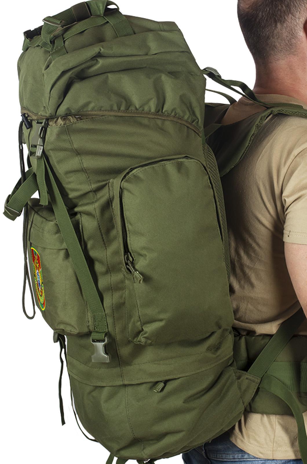 Армейский тактический рюкзак с в нашивкой Пограничной службы - заказать оптом